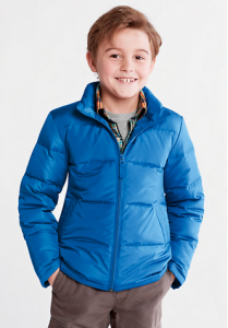Boy's Down Jacket Lands End