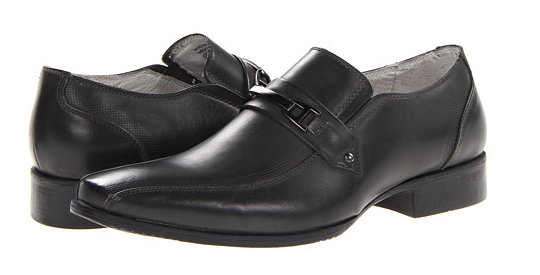 Screen Shot 2014 01 30 at 10.10.55 PM Steve Madden Mens Kenrik Leather Loafers in Grey   $32.99, Shipped