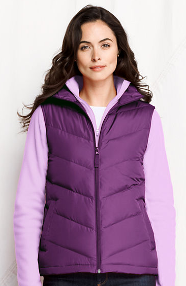 Womens Core Down Vest Lands End Warehouse Sale | Up To 65% Off Hundreds of Items!