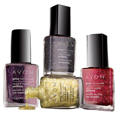 Avon Glitter Nail Enamel