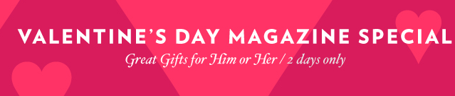 Discount Mags Valentine's Day Sale