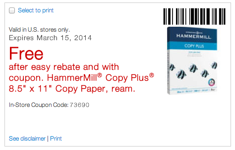 Screen Shot 2014 03 12 at 9.34.22 AM 11 FREE Reams of Printer Paper at Staples (In Store Only, Thru 3/15)