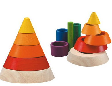 Screen Shot 2014 04 18 at 9.30.46 AM PLAN Toys Cone Sorting Wooden Set   $14.82 (Down from $24.99)