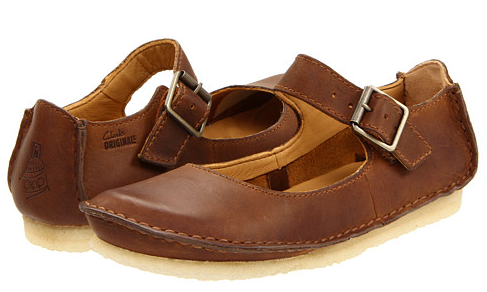 Women Clarks Leather