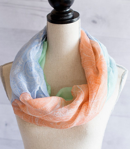 Spring Ombre Scarf