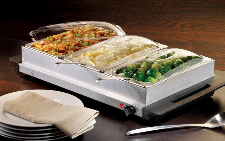 3 Section Warming Tray This Weeks Best Amazon Deals (7/4/14)