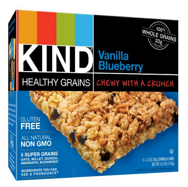 BLUEBERRY KIND BARS