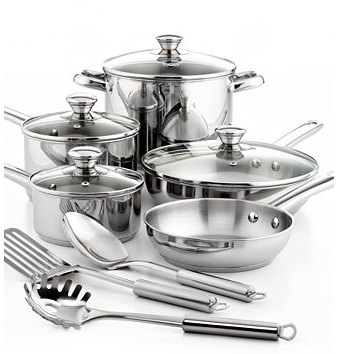 Tools of the Trade Stainless Steel Cookware Set