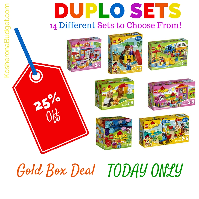 Duplo Sets 25 Percent Off