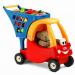 Lowest Price on Little Tikes Cozy Shopping Cart Red/Yellow – $24.64