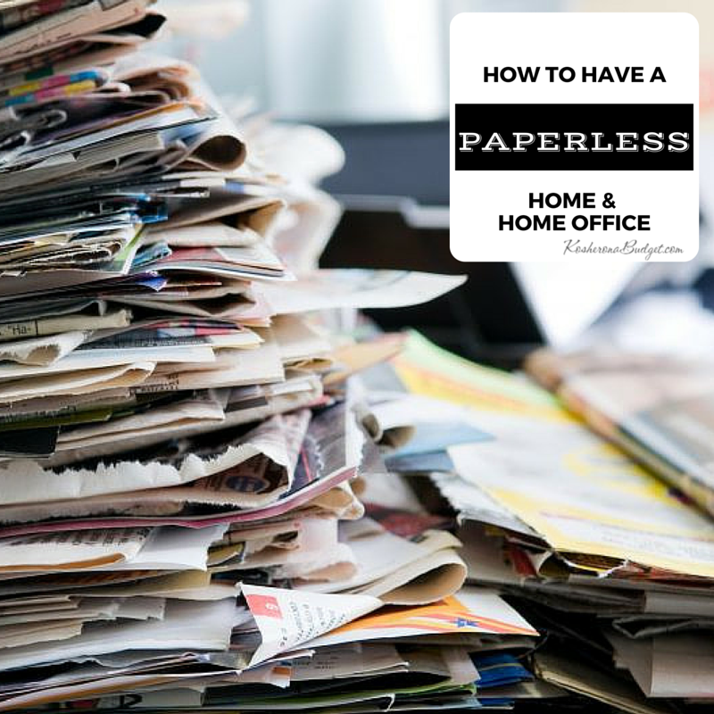 How To Have A Paperless Home U0026 Home Office