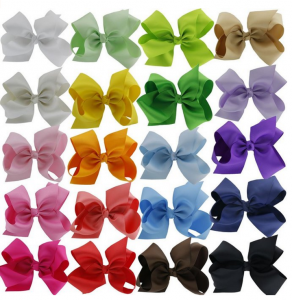 Girls Large Hair Bows