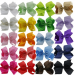 20 Large Boutique Girl's Hair Bows for Just $16.99