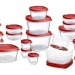 BEST PRICE EVER on Rubbermaid Food Storage 42-piece Set (In Red) – $8.99!!