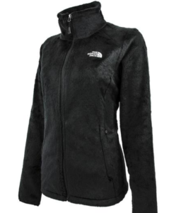 North face women's osito jacket black xl