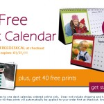 More Great Photo Deals!  Free Desk Calendar + 40 Free Prints