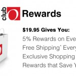 Overstock Shoppers: Club O Rewards Just $19.99 with Free Shipping & 5% Cashback