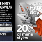 Adidas: FREE Men's Undershirts or Boxers