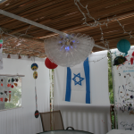 Pictures from our Sukkah