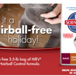 Free 3.5-Lb Bag of Science Diet Hairball Control Food