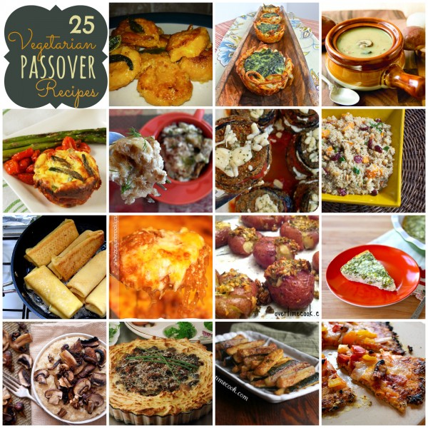 25 Vegetarian Passover Recipes