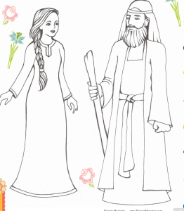 10 Free Shavuot Coloring Pages Crafts Colorong Pictures Of Ruth Namio