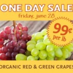 Whole Foods | Organic Grapes for $.99/Lb