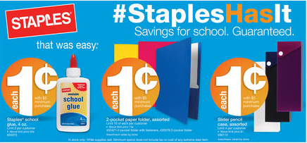 Staples Ad 7/28