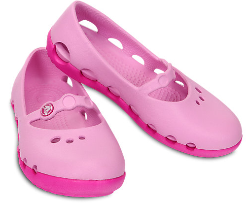 Girls Ballet Crocs