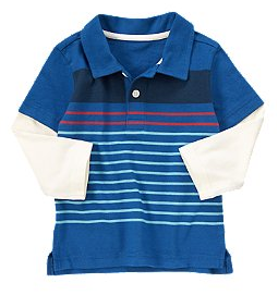 Striple Double Sleeve Polo