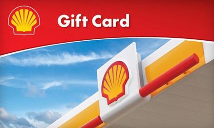 Shell Gas Card