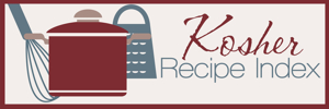 Kosher Recipe Index