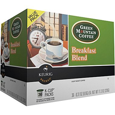 Keurig Green Mountain Coffee K-Cups
