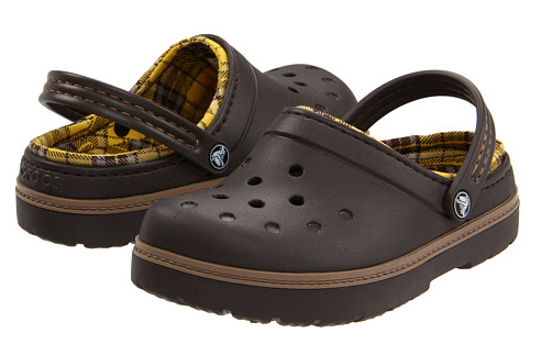 Crocs Plaid Kids