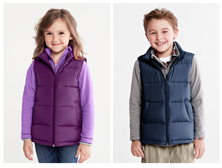 Kids Puffer Vests