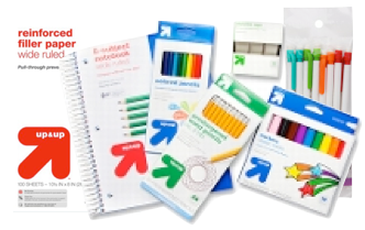 Target Up & Up School Supply Deals