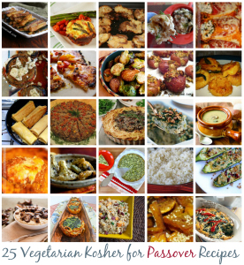 25 Vegetarian Kosher for Passover Recipes