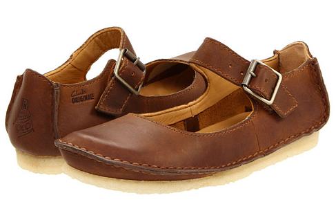 Women Clarks Leather