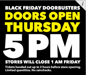 Best Buy Black Friday Hours