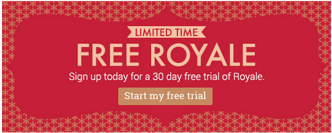 Free One Month Trial of PicMonkey Royale