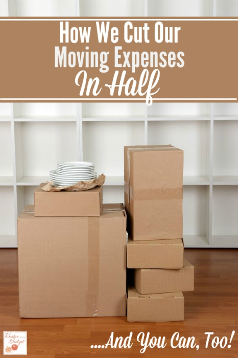 How We Cut Our Moving Expenses In Half - And You Can, Too! Learn how this family of five cut their moving expenses in half - from nearly $10,000 to under $5,000.