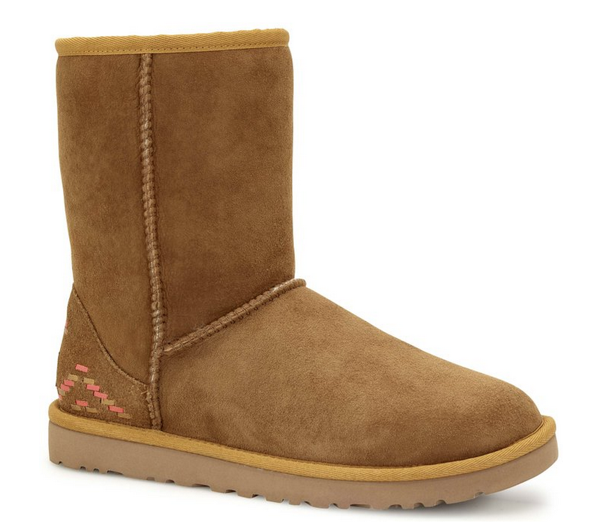 d210bd54c1a Lowest Price on UGG Australia Womens Classic Short Rustic Weave Boots
