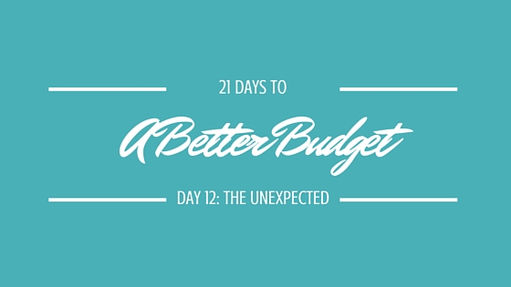 21 Days to a Better Budget, Day 12
