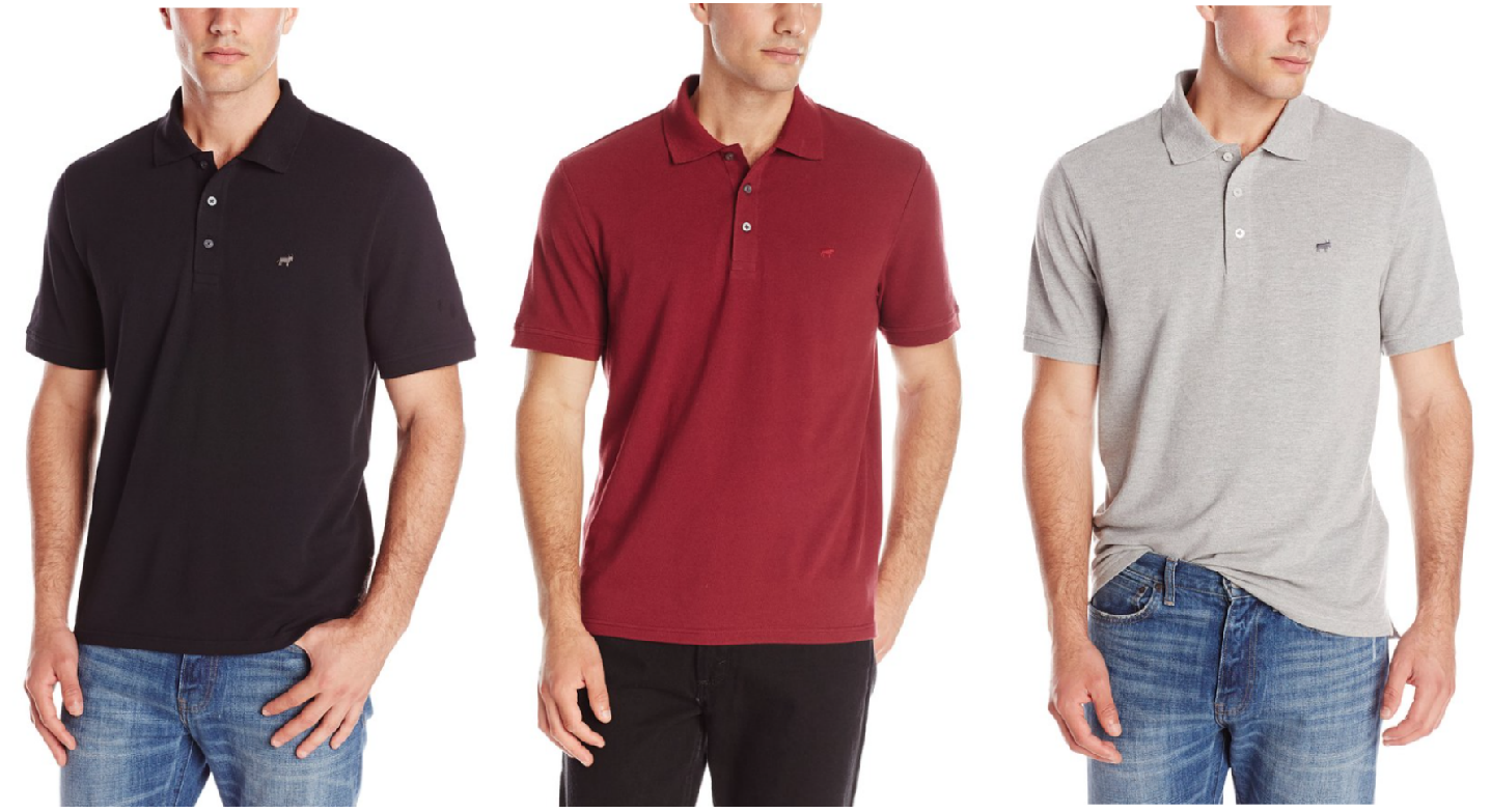 men's polos from $3 - $6