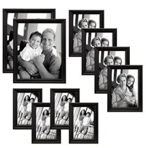 10 Piece Picture Frame Set Just 170 Per Frame 4x6 5x7 8x10