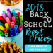 The 2018 BEST Back-to-School Prices
